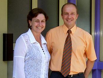 Stéphane WAUTHIER Et Son épouse Valérie